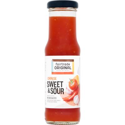 Fair Trade Original Woksaus sweet sour