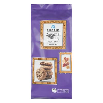 Huismerk Choc chip caramel filling