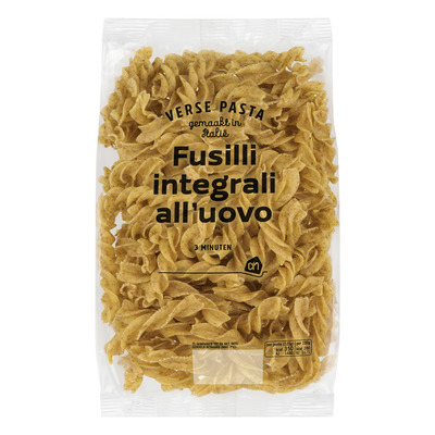 Huismerk  Fusilli integrali all uovo