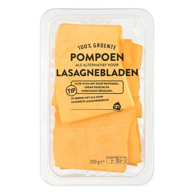 Huismerk Pompoen lasagnebladen