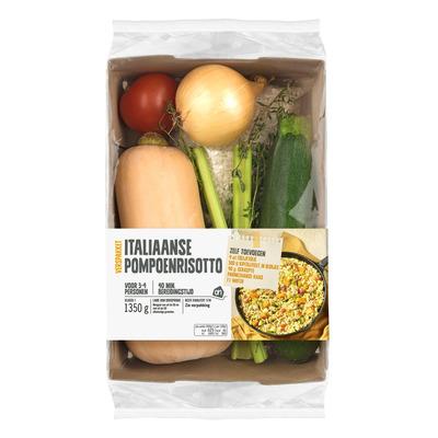 Huismerk Italiaanse pompoenrisotto verspakket