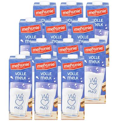 Melkunie volle houdbare melk 12 x 1 liter