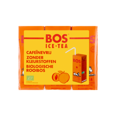 Bos Ice Tea Biologische Rooibos Peach