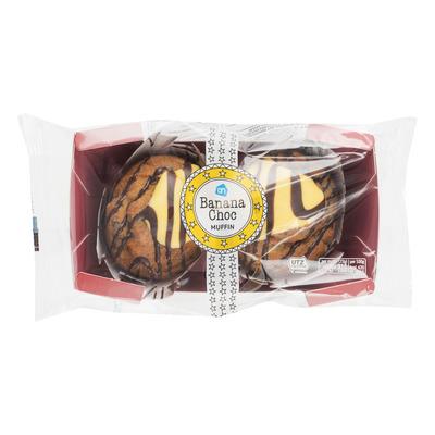 Huismerk Banana chocolate muffin