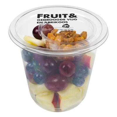 Huismerk Vers fruit & gedroogd vijg abrikoos