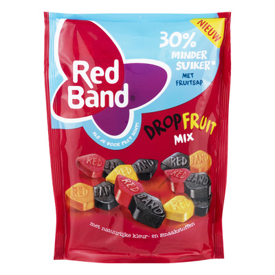 Red Band Dropfruit mix 30% minder suiker