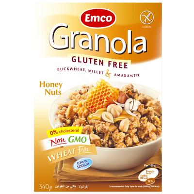 Emco Granola honing noten
