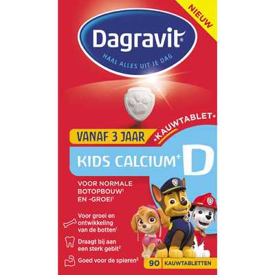 Dagravit Vitaminen kids calcium + D