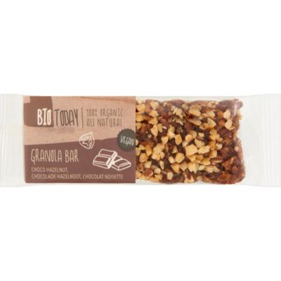 Bio Today Granolareep chocolade hazelnoot