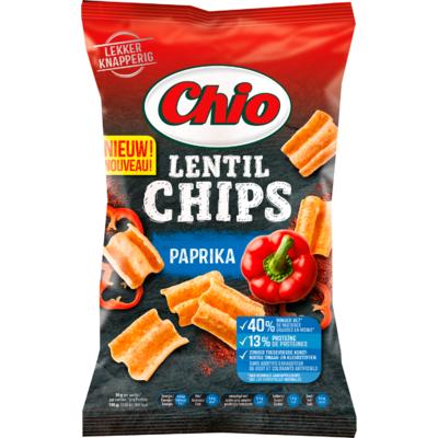 Chio Lentil chips paprika