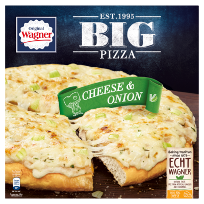Wagner Big pizza cheese&onion