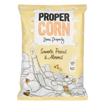 Propercorn Smooth peanut & almond