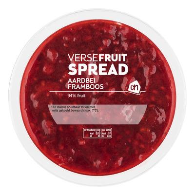 Huismerk Fruitspread rood fruit