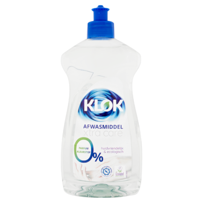 Klok Afwasmiddel Xtra Care 500 ml