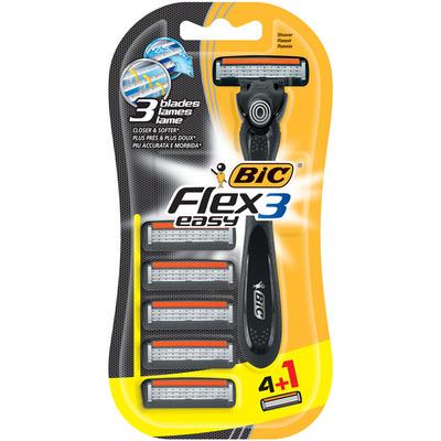 Bic Flex 3 easy scheersysteem