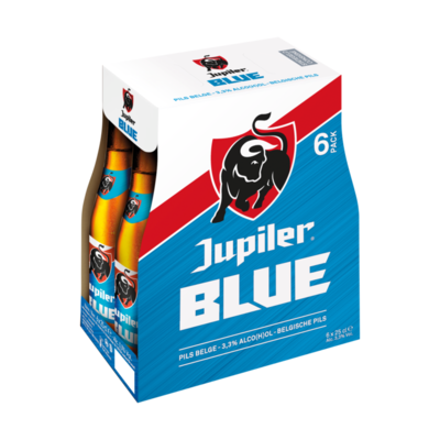 Jupiler Blue Blond Bier Flessen