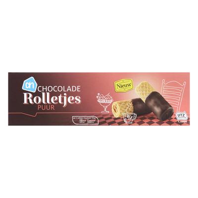 Huismerk Choco rolls dark chocolate