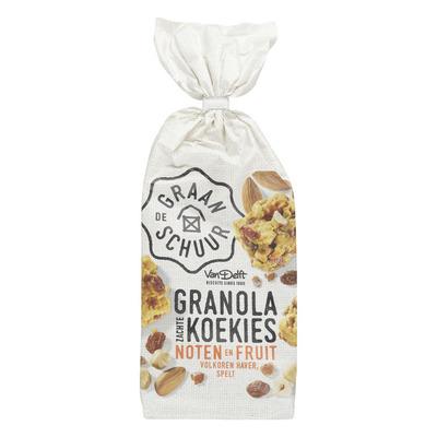 De Graanschuur Granola koekies noten en fruit