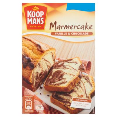 Koopmans Marmercake Vanille & Chocolade 400 g