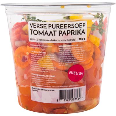 Fresh & easy Pureersoep tomaat paprika