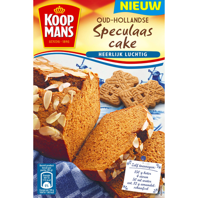 Koopmans Oud-Hollandse speculaascake