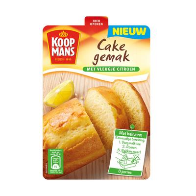 Koopmans Cake gemak vanille met citroen