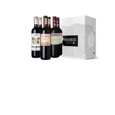 De bio trio wijnbox rood