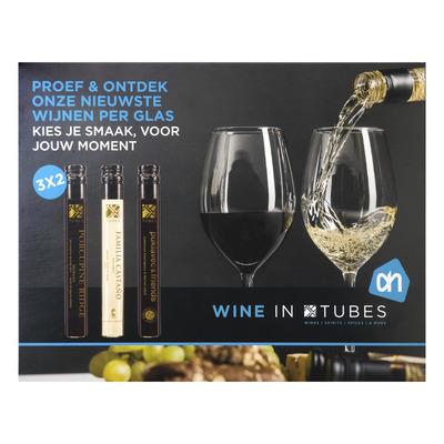 Winetubes Wijn tubes