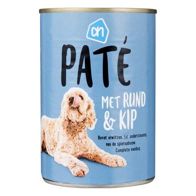 Huismerk Paté rund-kip (voor de hond)
