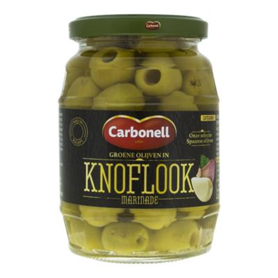 Carbonell Groene olijven knoflook marinade