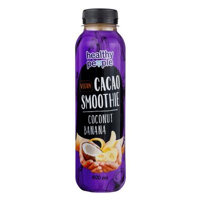 Healthy People Coconut banana smoothie cacao