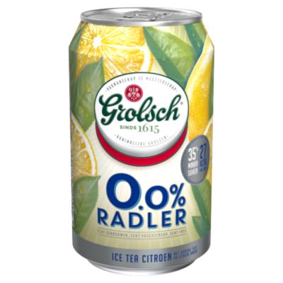Grolsch 0.0% Radler Ice Tea Citroen