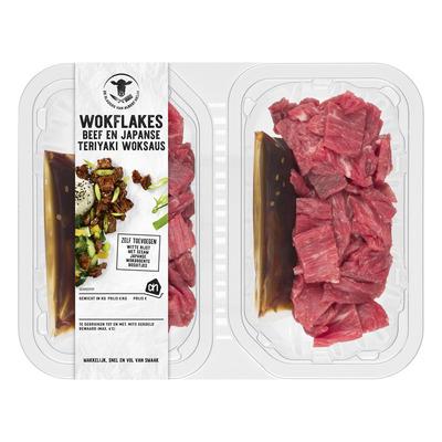 Huismerk Beef & Japanse teriyaki woksaus