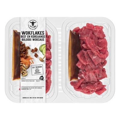 Huismerk Beef & Koreaanse bulgogi woksaus