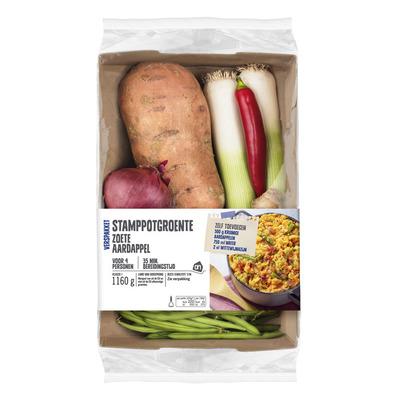 Huismerk Zoete aardappel stamppotgr verspakket