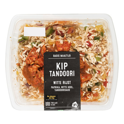 Huismerk Basis maaltijd kip-tandoori