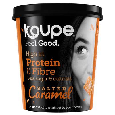 Koupe Proteïne-ijs salted caramel