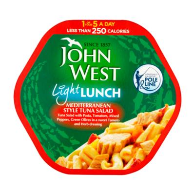 John West Light Lunch Mediterranean Style Tuna Salad