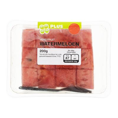 Huismerk Zongerijpte Watermeloen Stukjes
