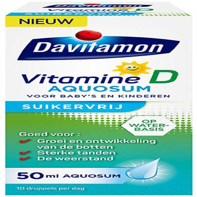 Davitamon D aquosum suikervrij