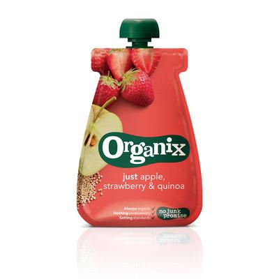 Organix Just apple strawberry quinoa