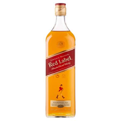 Johnnie Walker Red Label Blended Scotch Whisky 1 L