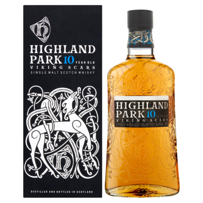 Highland Park 10 Years Old Viking Scars 0,7 L