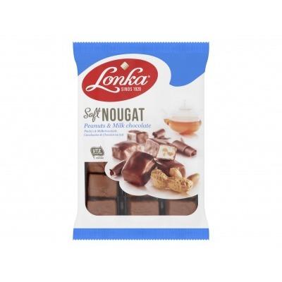 Lonka Soft Nougat Pinda's & Melkchocolade