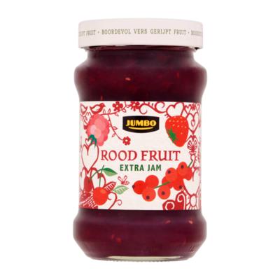 Huismerk Rood Fruit Extra Jam