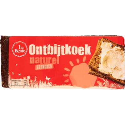 Huismerk Ontbijtkoek volkoren gesneden