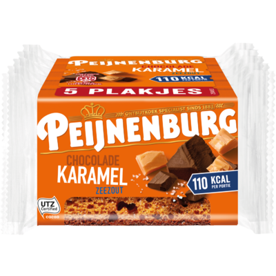 Peijnenburg Chocolade karamel zeezout