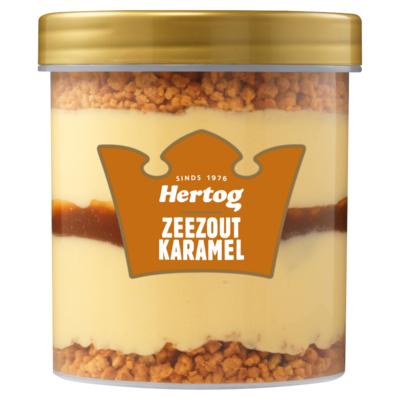 Hertog Karamel Zeezout IJsbeker 430 ml