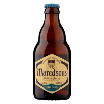 Maredsous Belgisch Abdijbier Tripel Fles