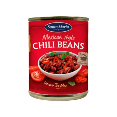 Santa Maria Tex Mex Mexican Style Chili Beans Medium